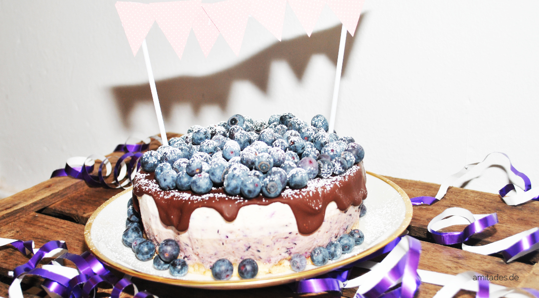 Cremiger Blueberry-Cheesecake
