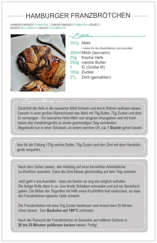 Rezept Franzbrötchen