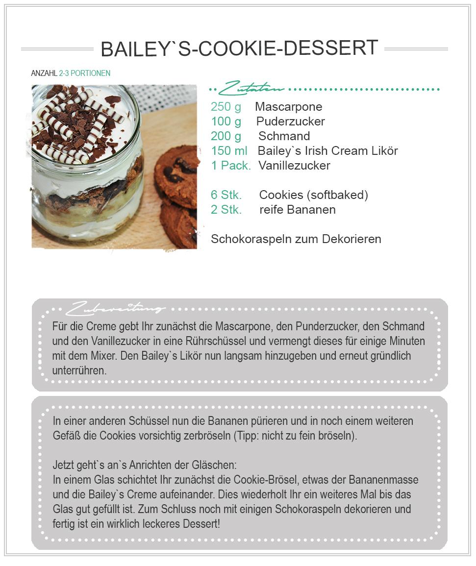 amitades.Blog | REZEPT Baileys Dessert