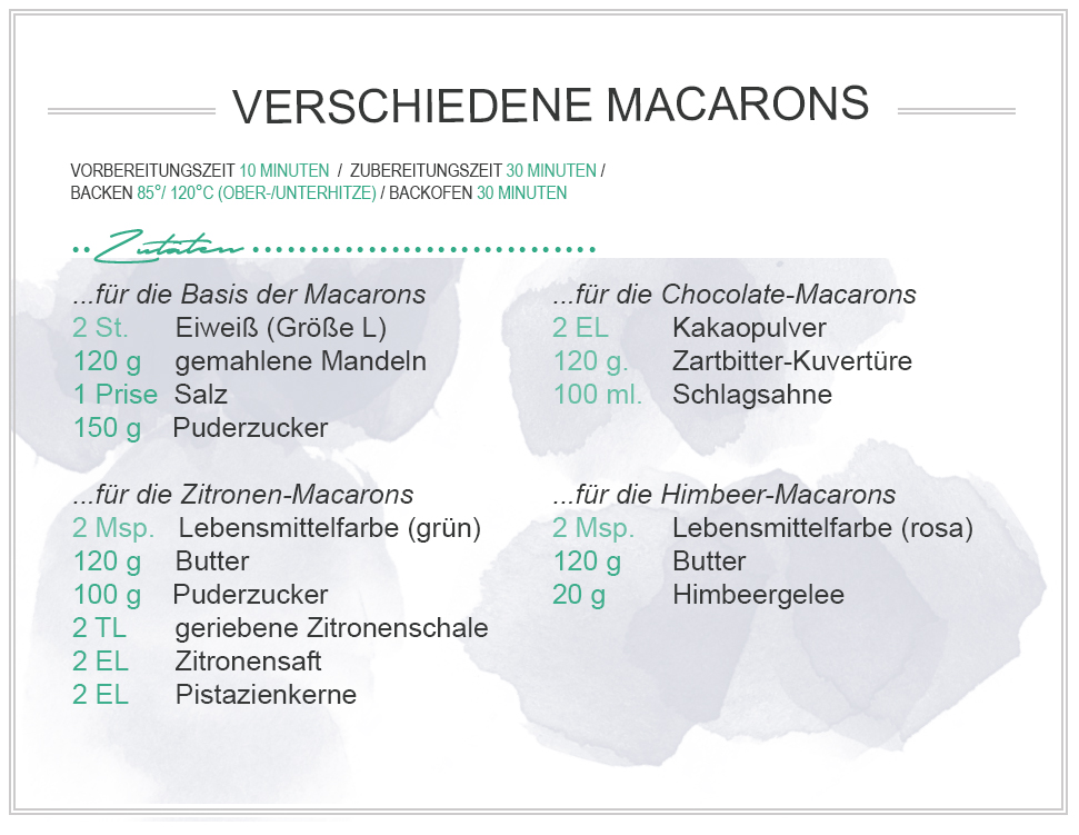 amitades.blog | Macarons