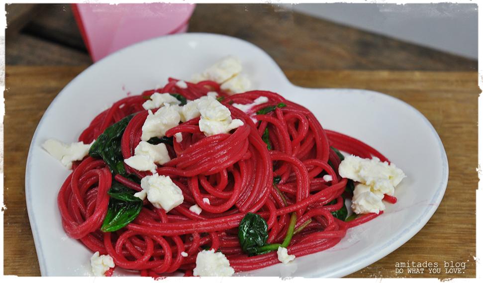 amitades.Blog|Rote-Bete-Spaghetti