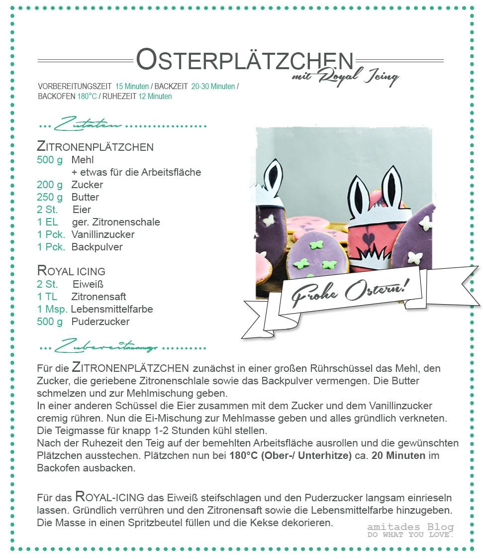 amitades.Blog | Rezept Osterplätzchen