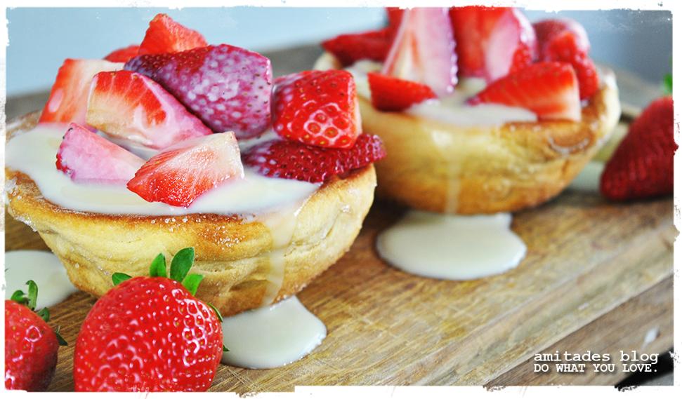 amitades.Blog | fruchtiges Buttermilch-Törtchen