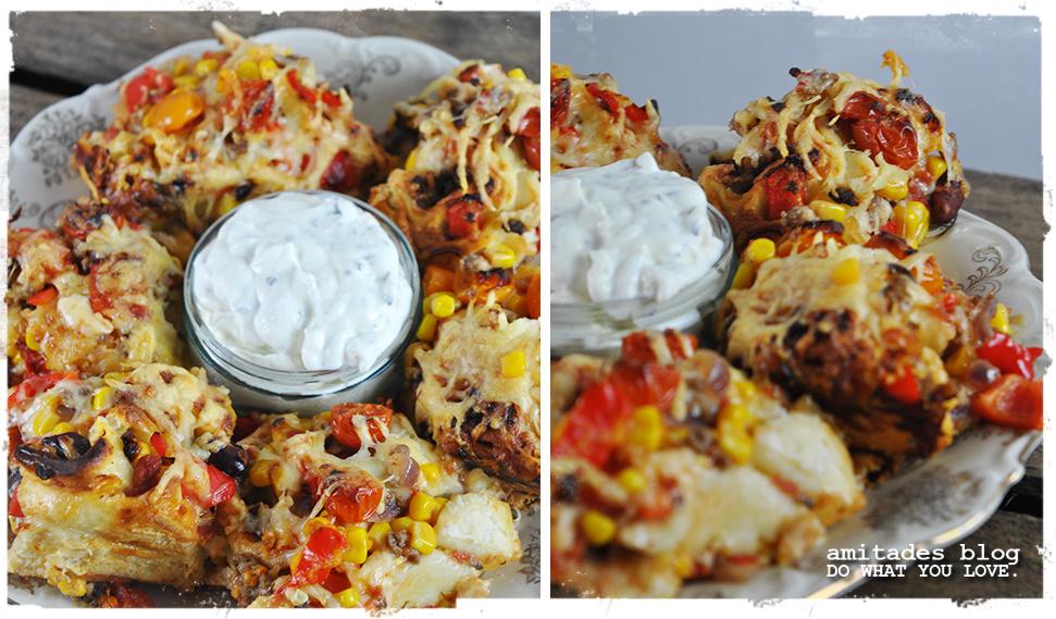 ChiliconCarne Pizzarolls | amitades.Blog