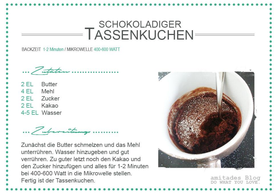 amitades.Blog  Rezept Tassenkuchen