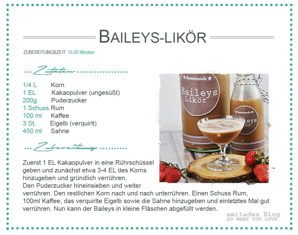 amitades.Blog |Rezept Baileys-Likör