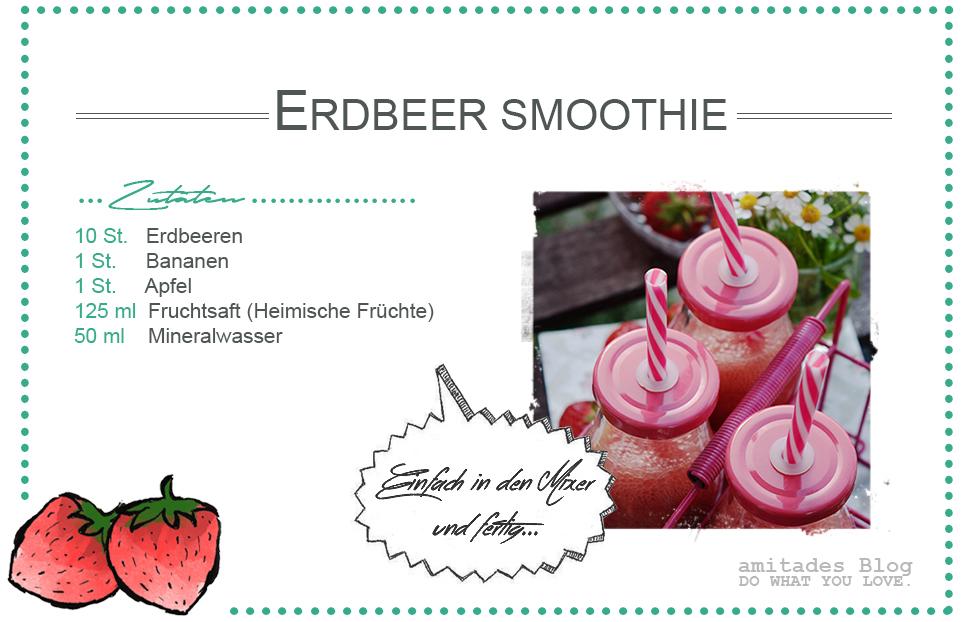 Rezept Erdbeer-Smoothie