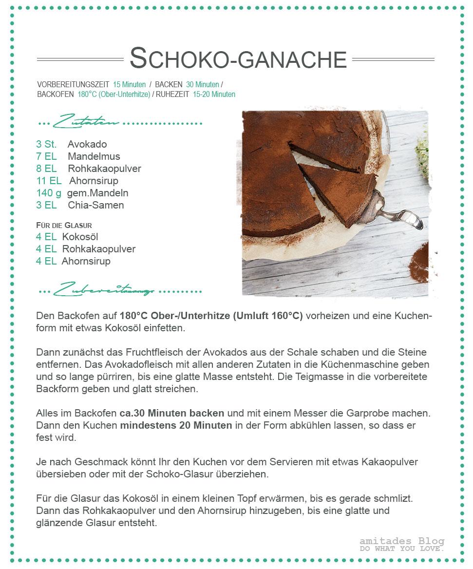 amitades.Blog | Schokoladen-Ganache Rezept