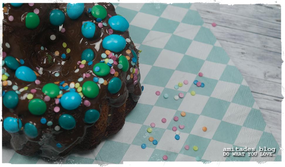 amitades.Blog | Marmorkuchen mit Konfetti