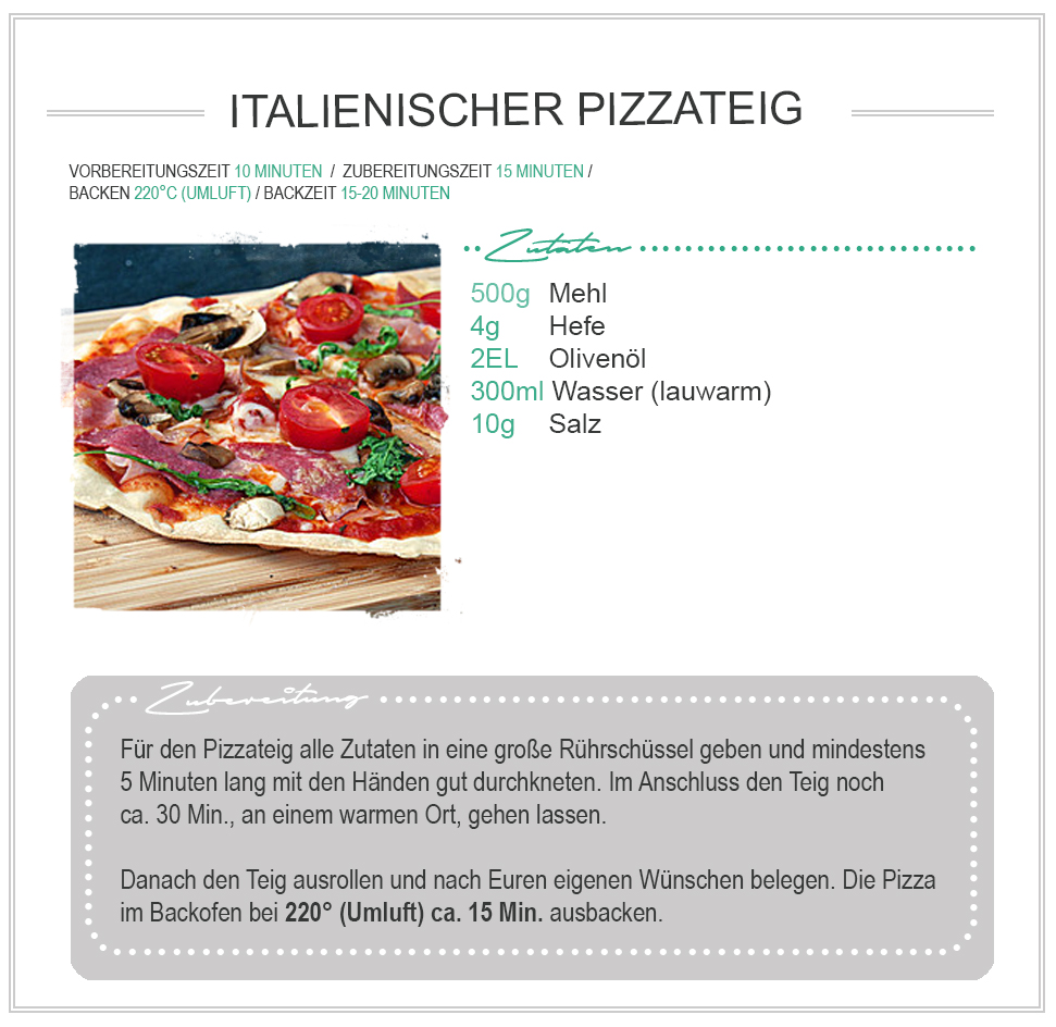 Rezept Pizza