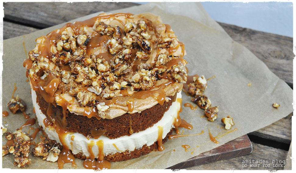 amitades.Blog | Apfel-Karamell-Torte
