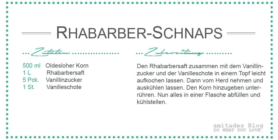 amitades.blog | Rezept Rhabarber-Schnaps