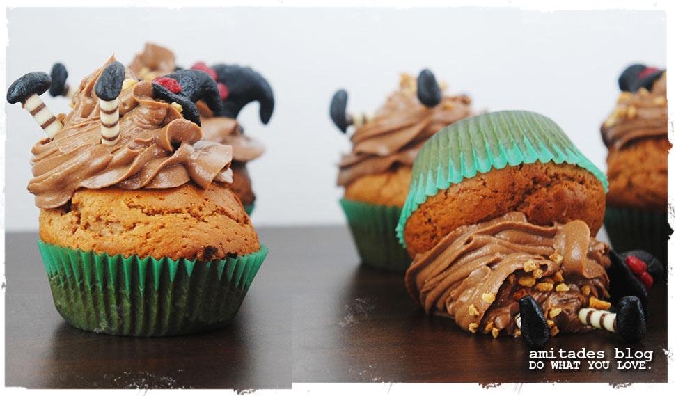 amitades.Blog | verhexte Halloween-Cupcakes