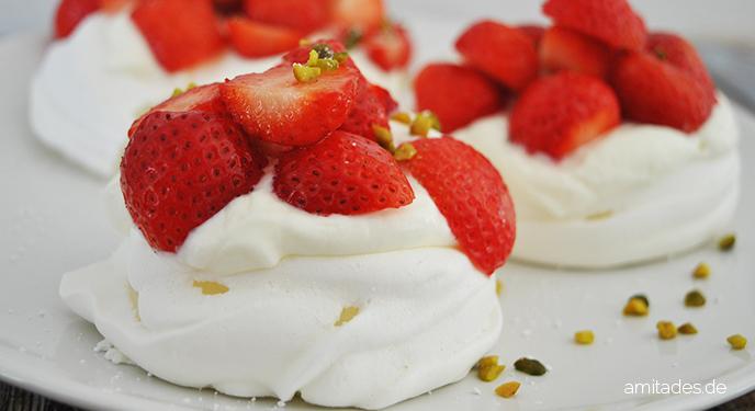 Ein Sommertraum – die Erdbeer-Pavlova
