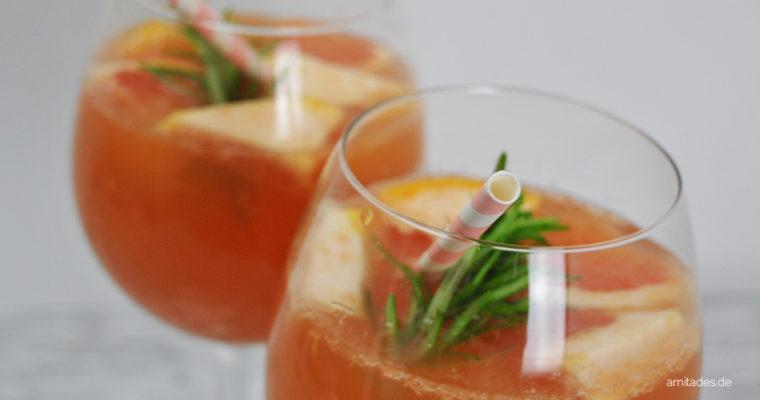 Grapefruit-Rosmarin-Limonade