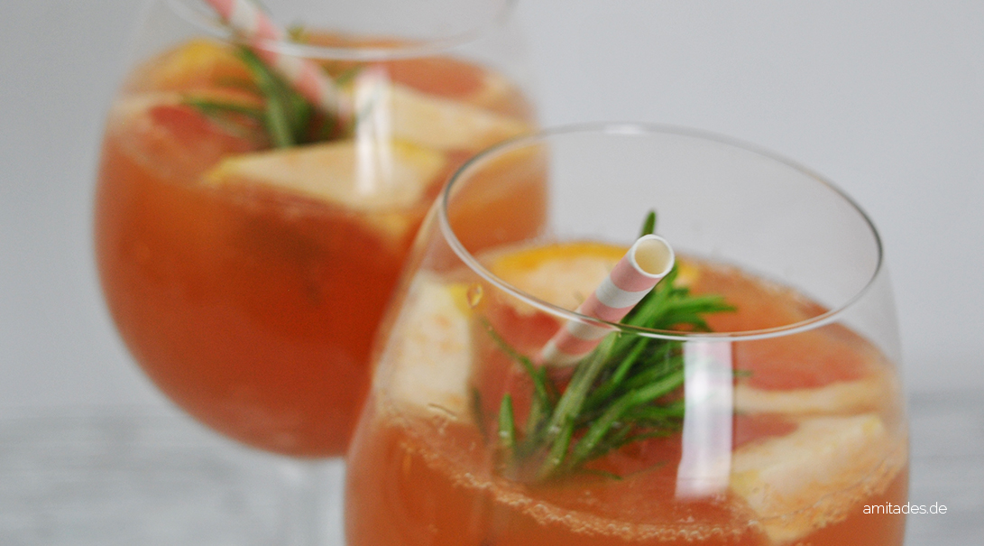 Grapefruit-Rosmarin-Limonade